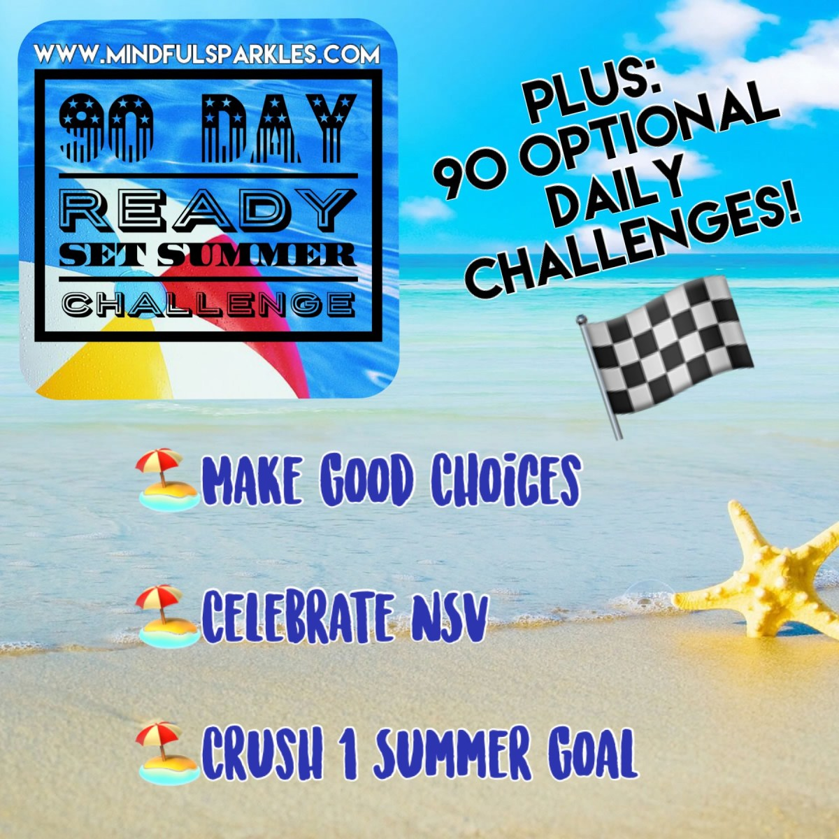 90 Day Ready Set Summer Challenge